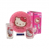 Набор посуды Luminarc Hello Kitty Sweer Pink H5483